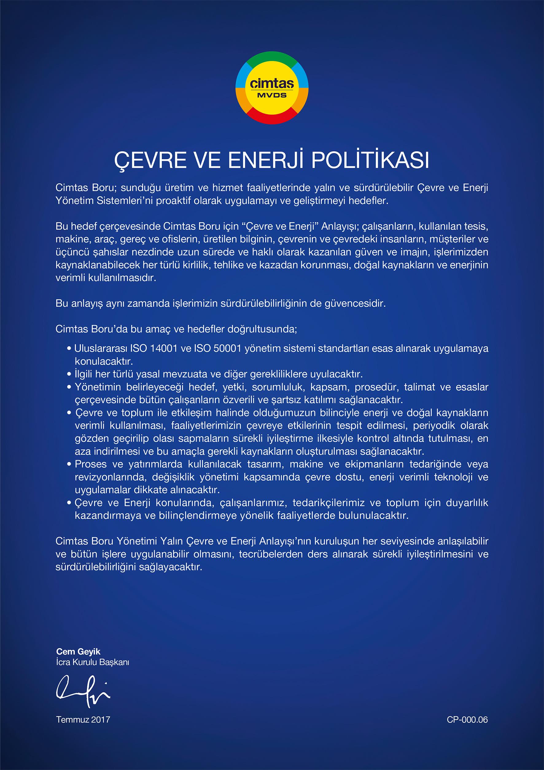 ÇE_Politikasi
