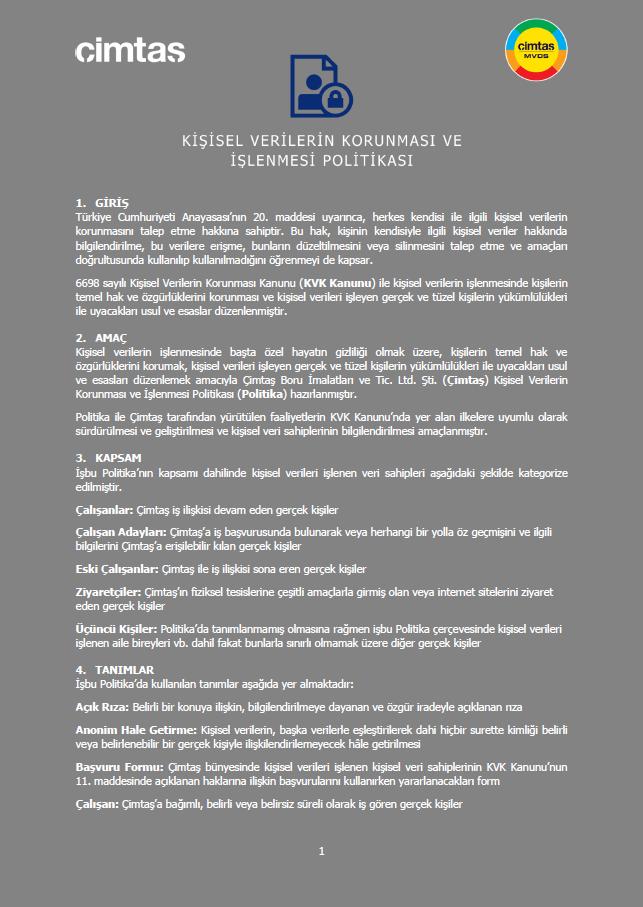 KVKK_Politika_Policy