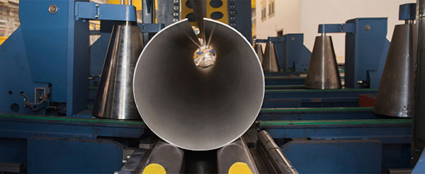 First Stainless Steel LSAW Pipes Manufactured